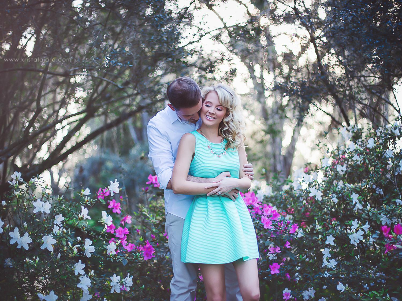 Engagement Session at Bok Tower Gardens, Lake Wales, Florida // www.kristalajara.com
