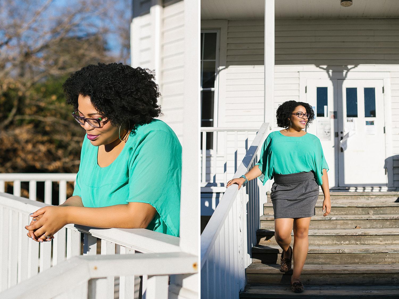 """LC Johnson """"Colored Girl Confidential"""" // www.kristalajara.com"""