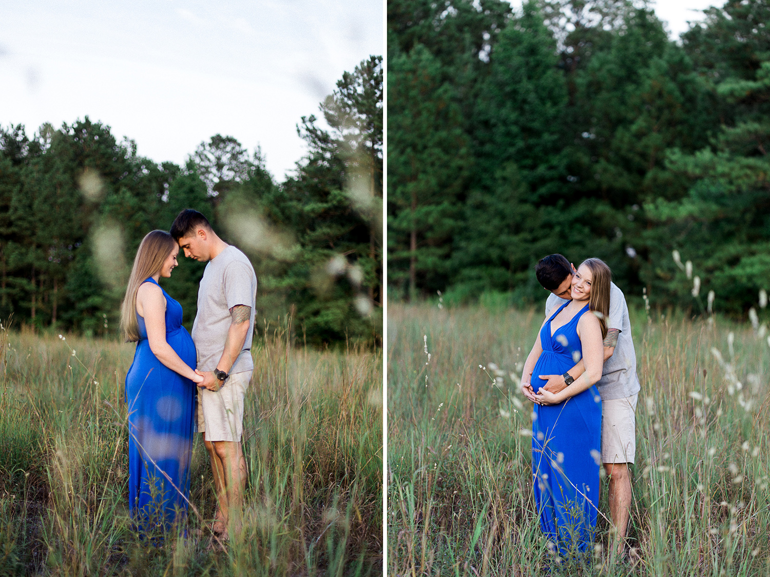 Michelle + Will: Expecting | Spring Lake, NC // www.kristalajara.com