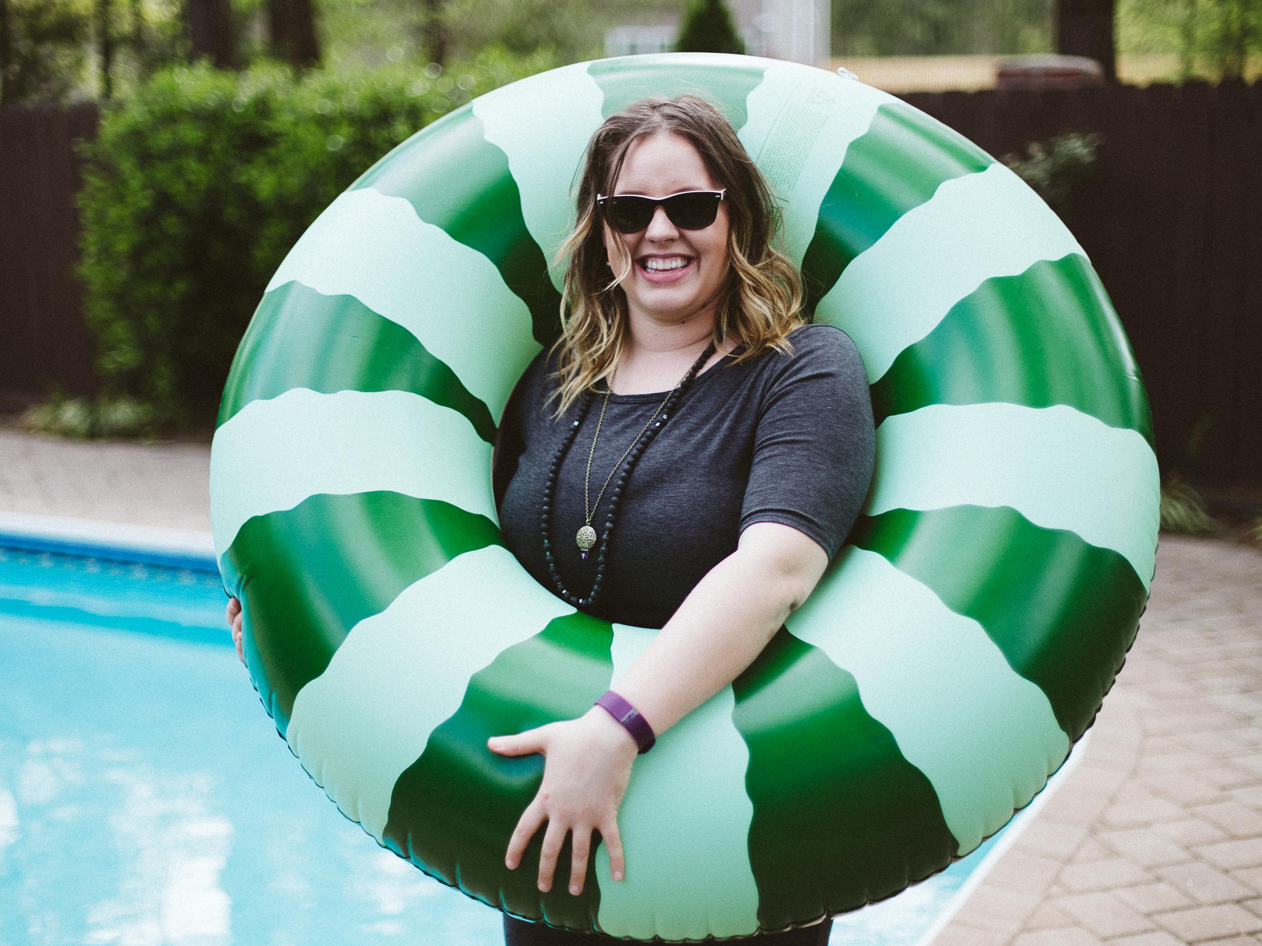PRESSED Pool Party: Ban.do fun in the sun! // www.kristalajara.com