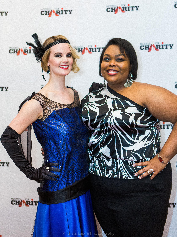 Models for Charity: Wildest Dreams Gala in Raleigh, NC // www.kristalajara.com