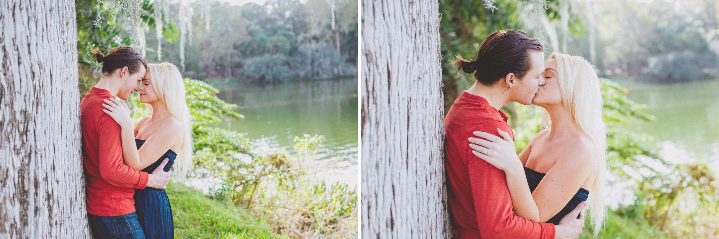Jake + Milena: Leu Gardens Proposal // www.kristalajara.com
