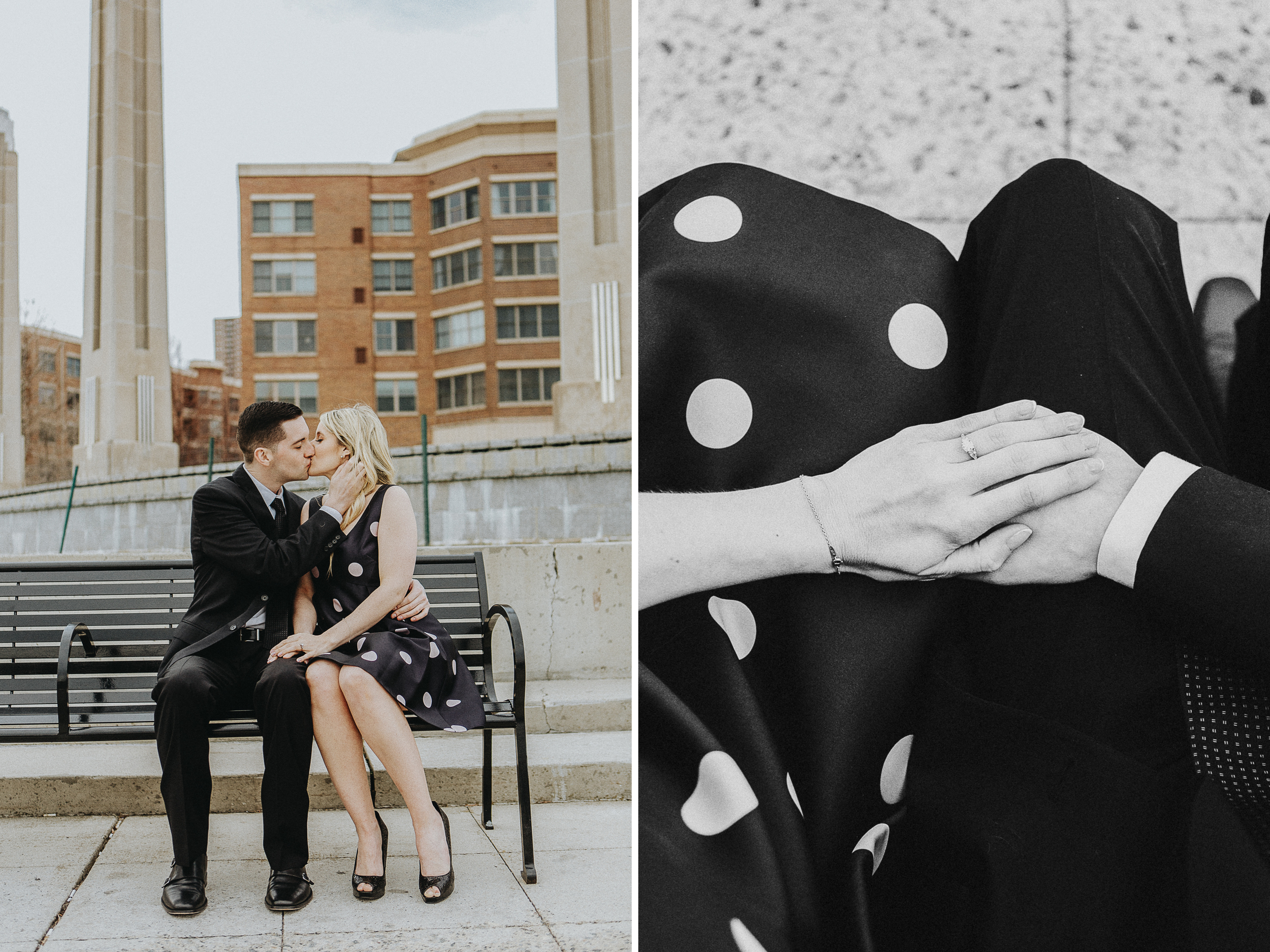 Raquel + Chris: New Jersey Engagement Session // www.kristalajara.com
