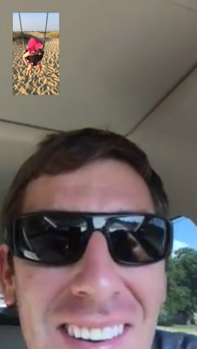 We get by with daily FaceTime chats.
