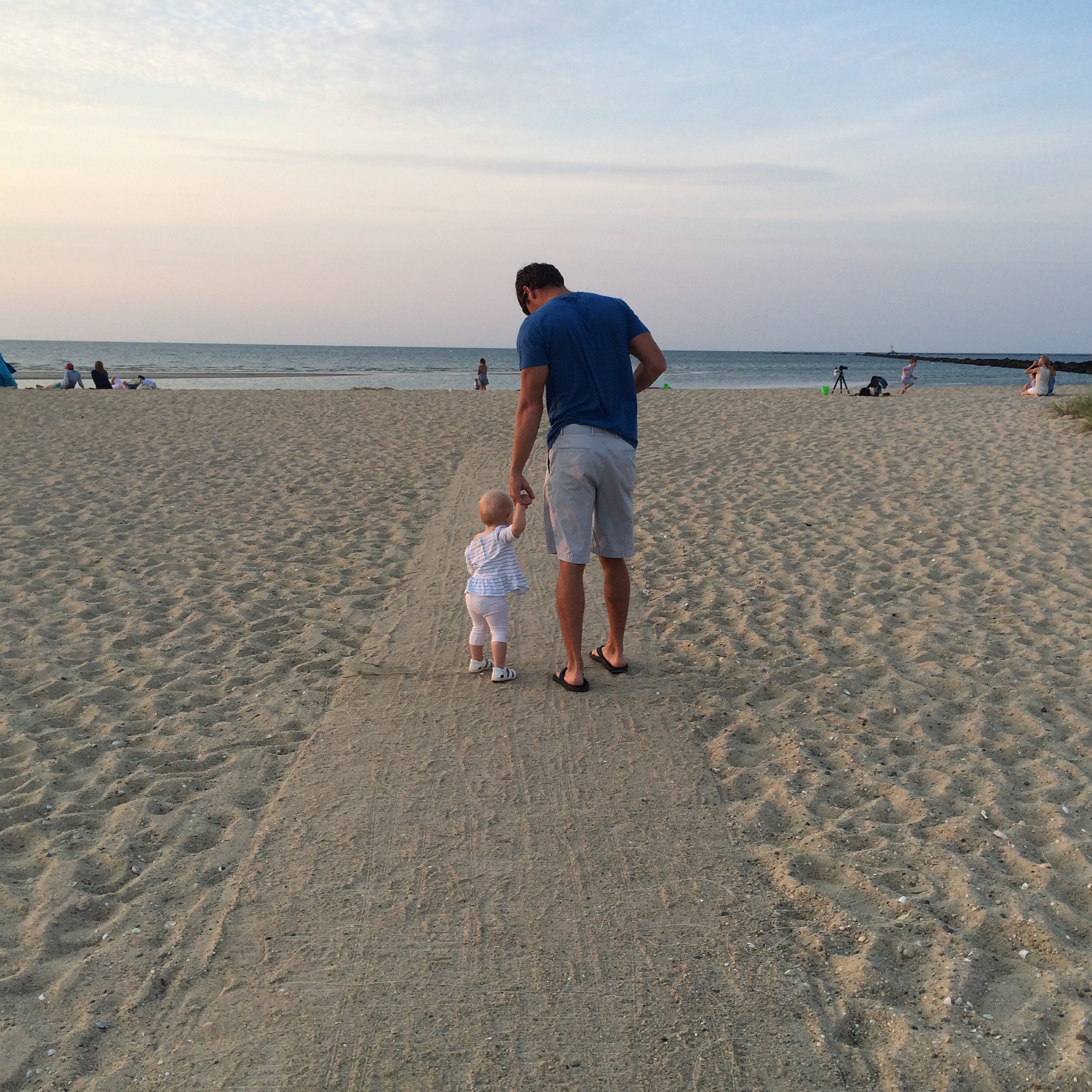 Savoring every moment together during dad's visit