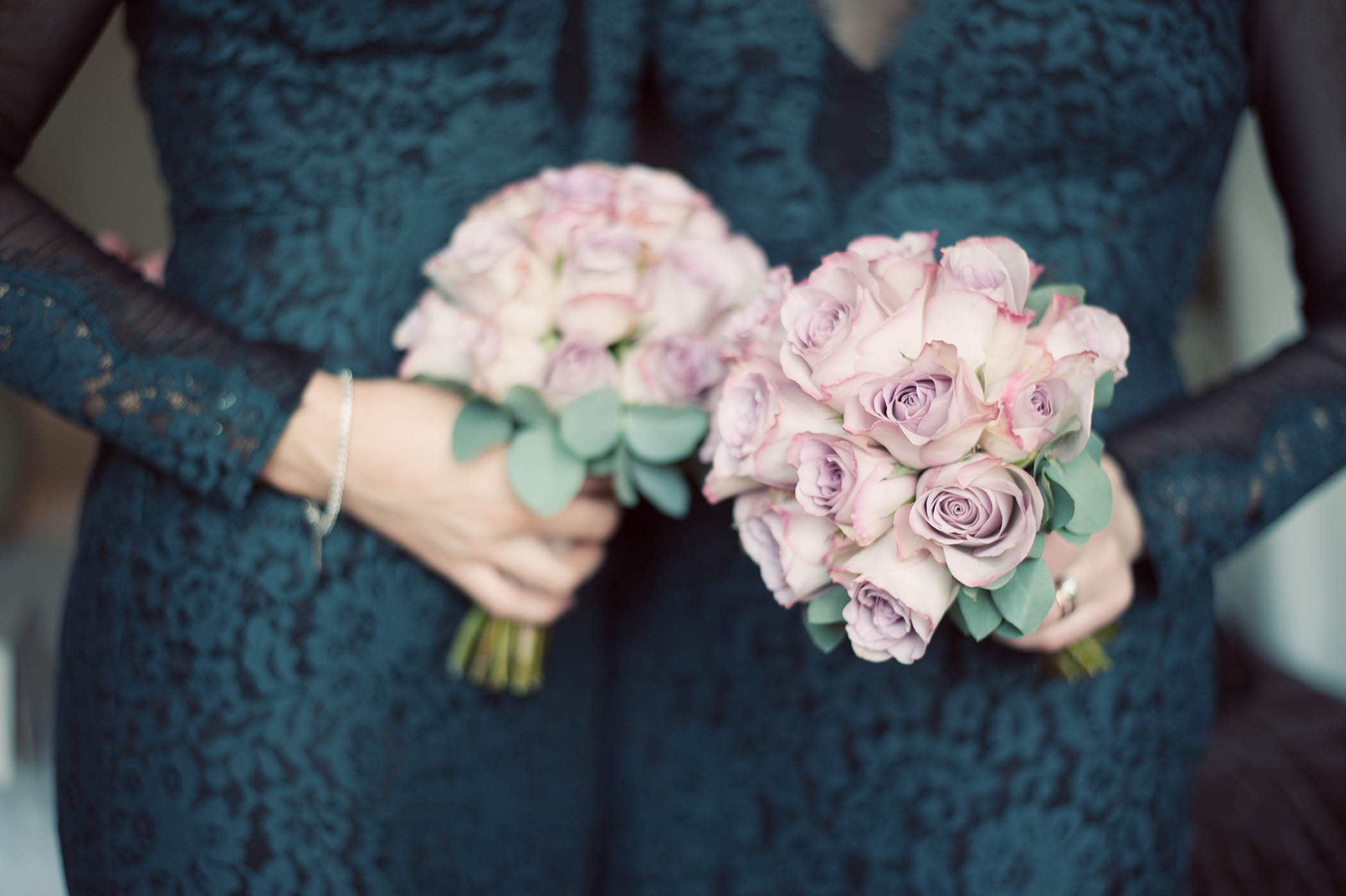 Fallon and Byrne wedding 2014, bridesmaids bouquets