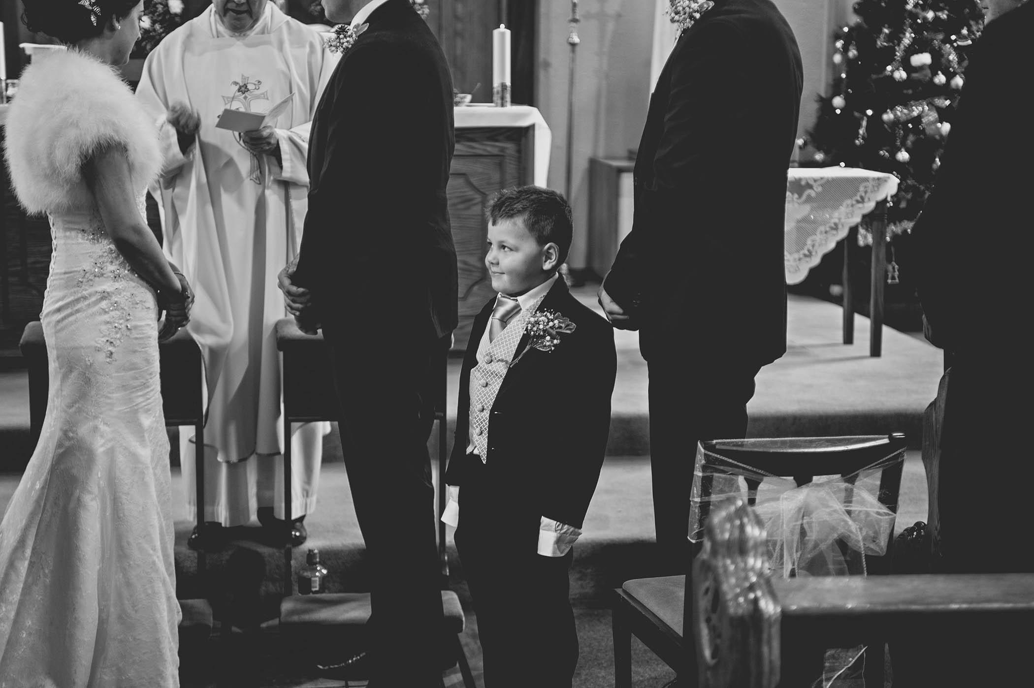 Horetown House wedding ceremony 2014