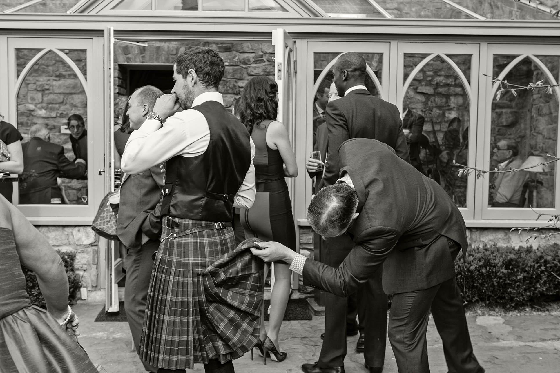 Ballymagarvey wedding, opportune funny photographs at wedding