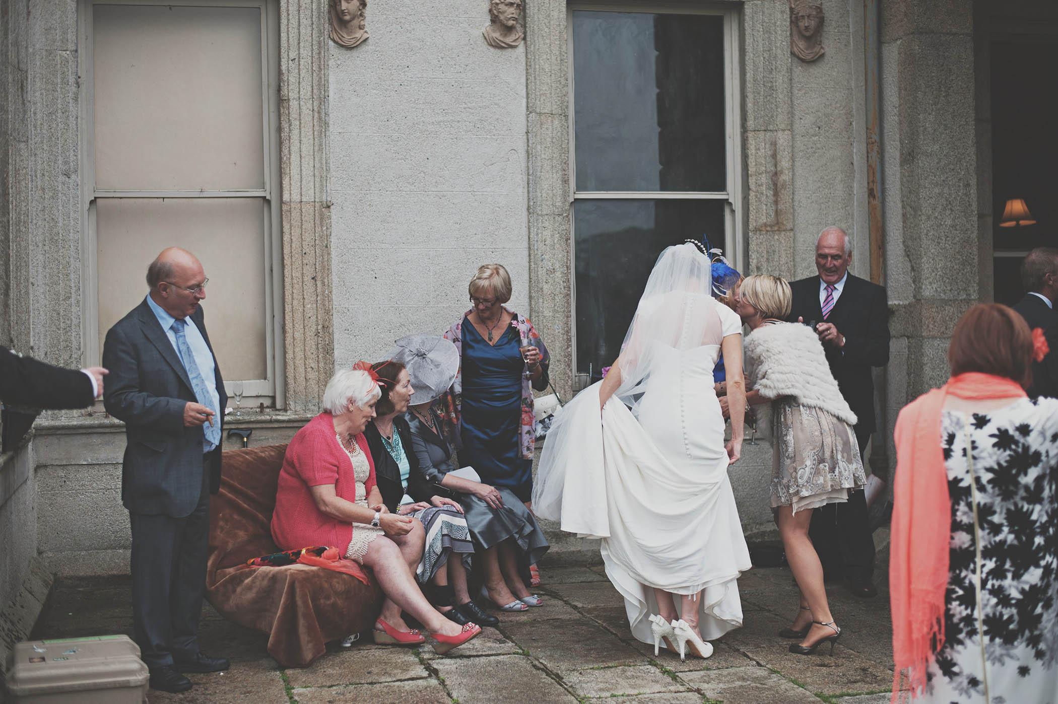 Borris House photojournalistic style wedding photography