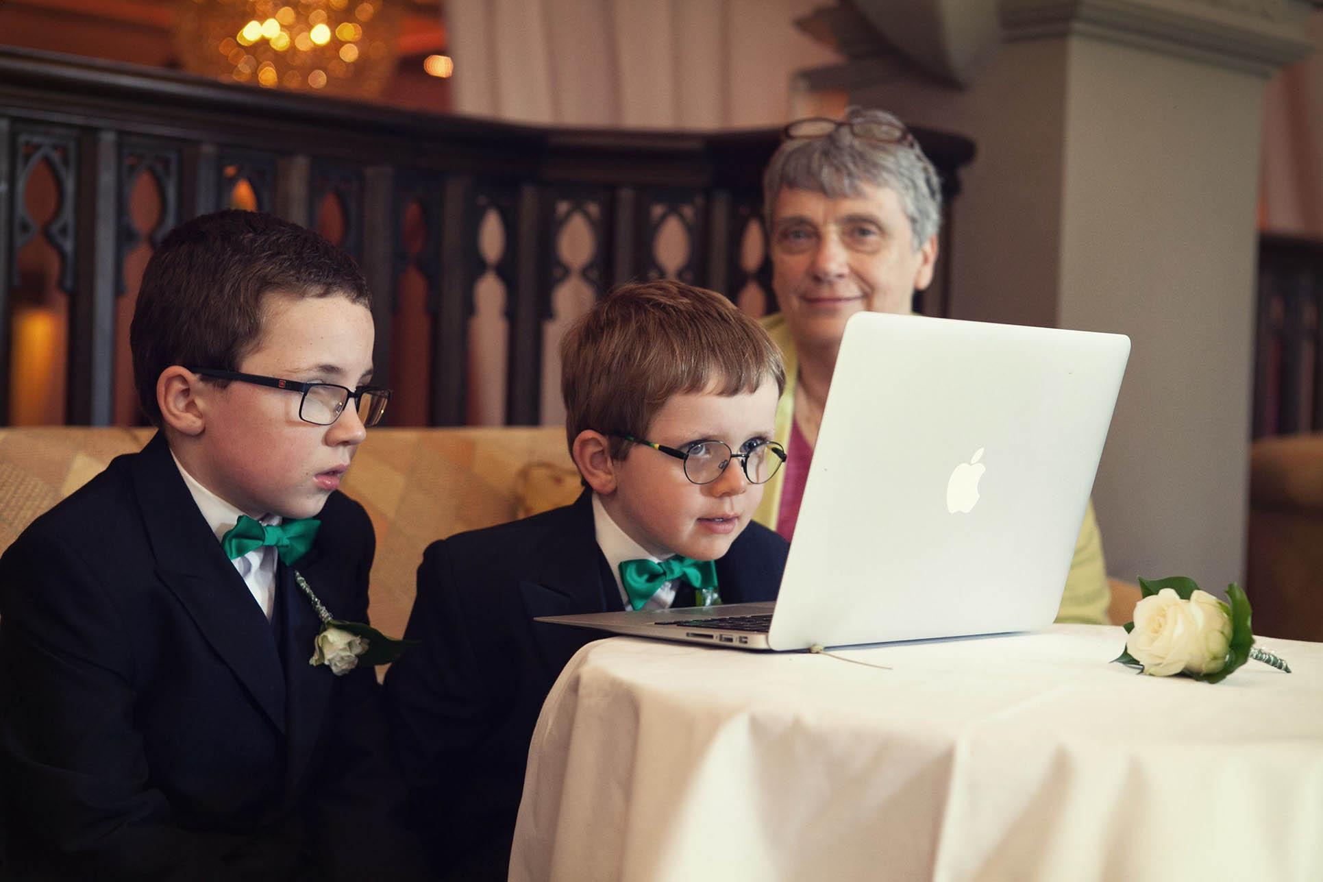 Dromoland Castle wedding, children at wedding