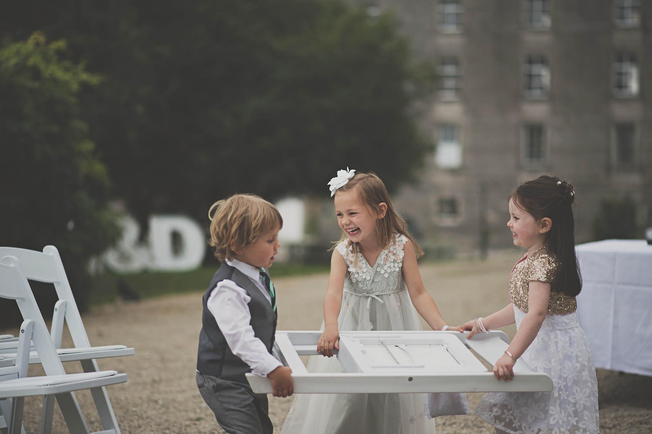 The Millhouse, Slane, children at wedding