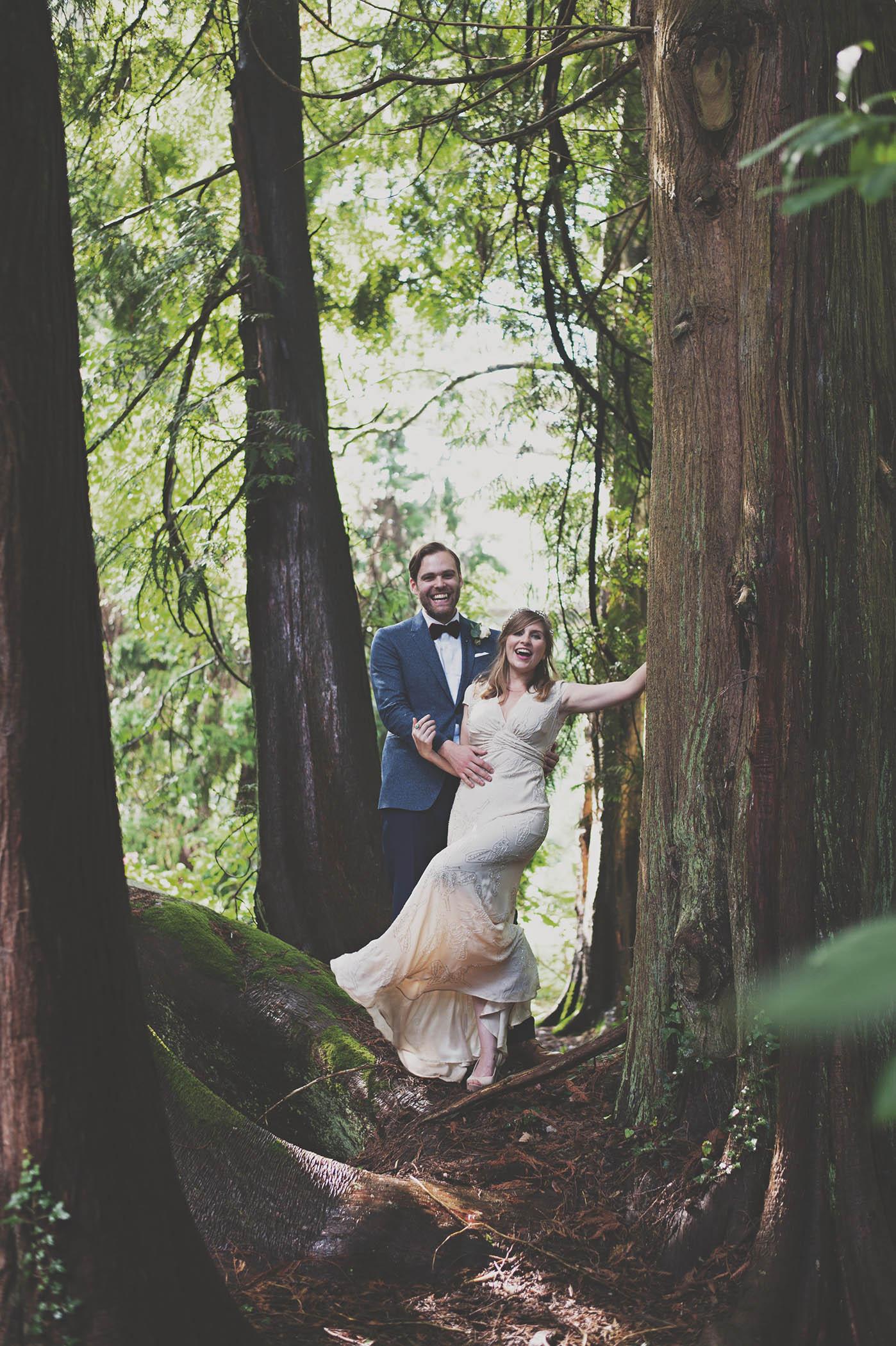 Trudder Lodge Outdoor wedding