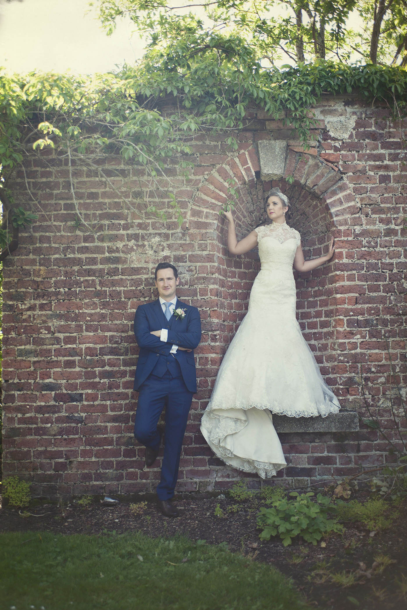 Druids Glen wedding couple