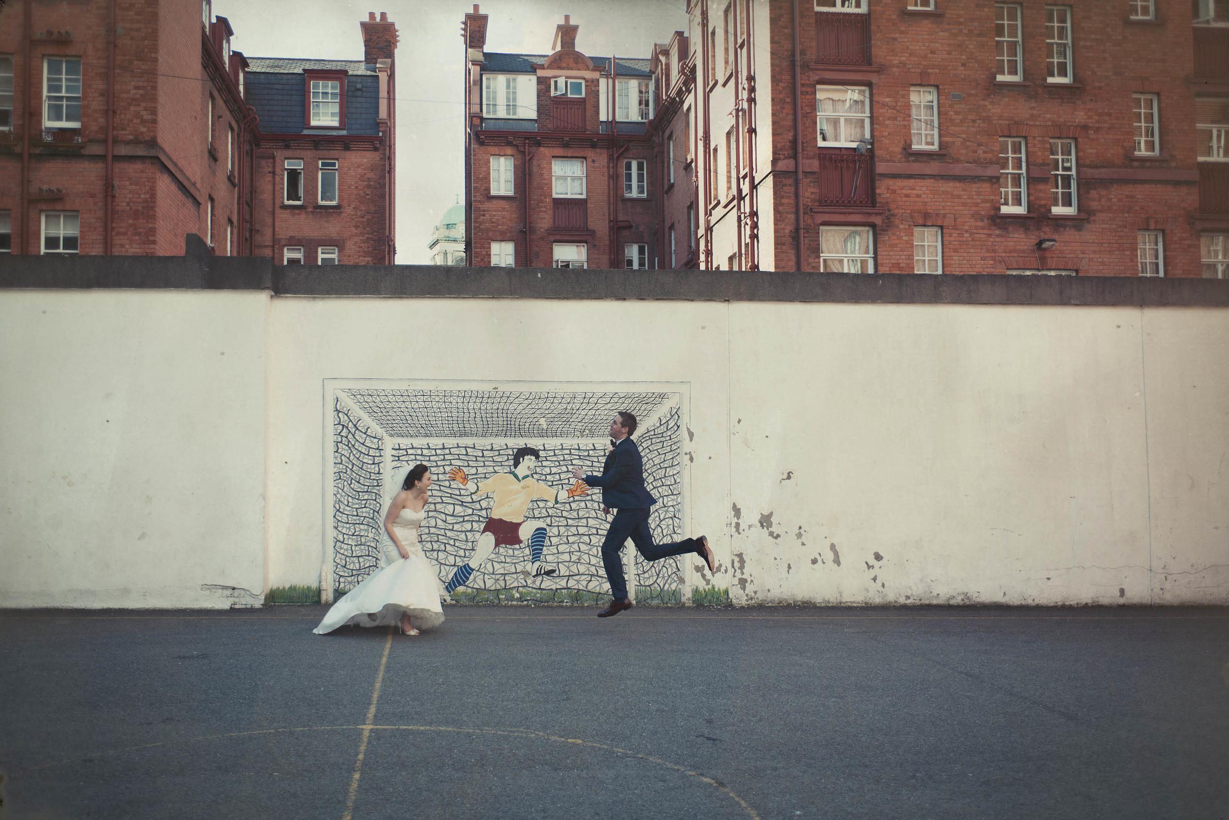 Fallon and Byrne, Dublin City Wedding