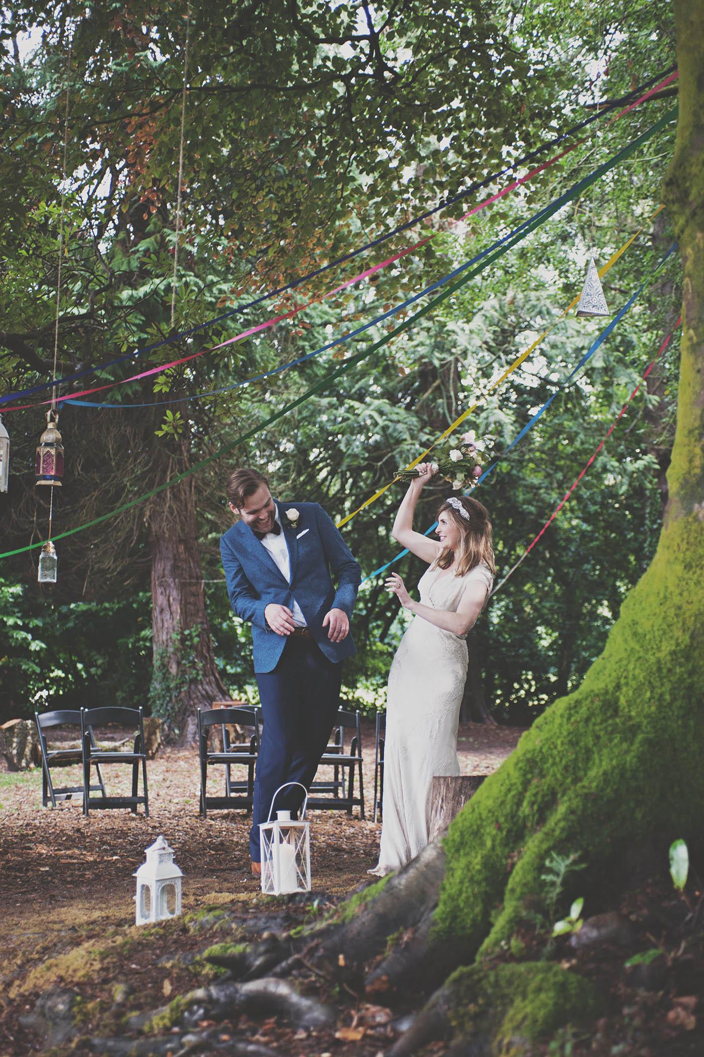 Trudder Lodge wedding photography
