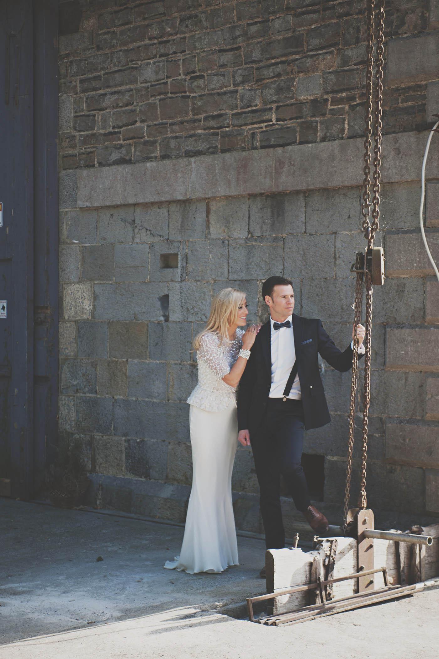 The Millhouse, Slane wedding couple
