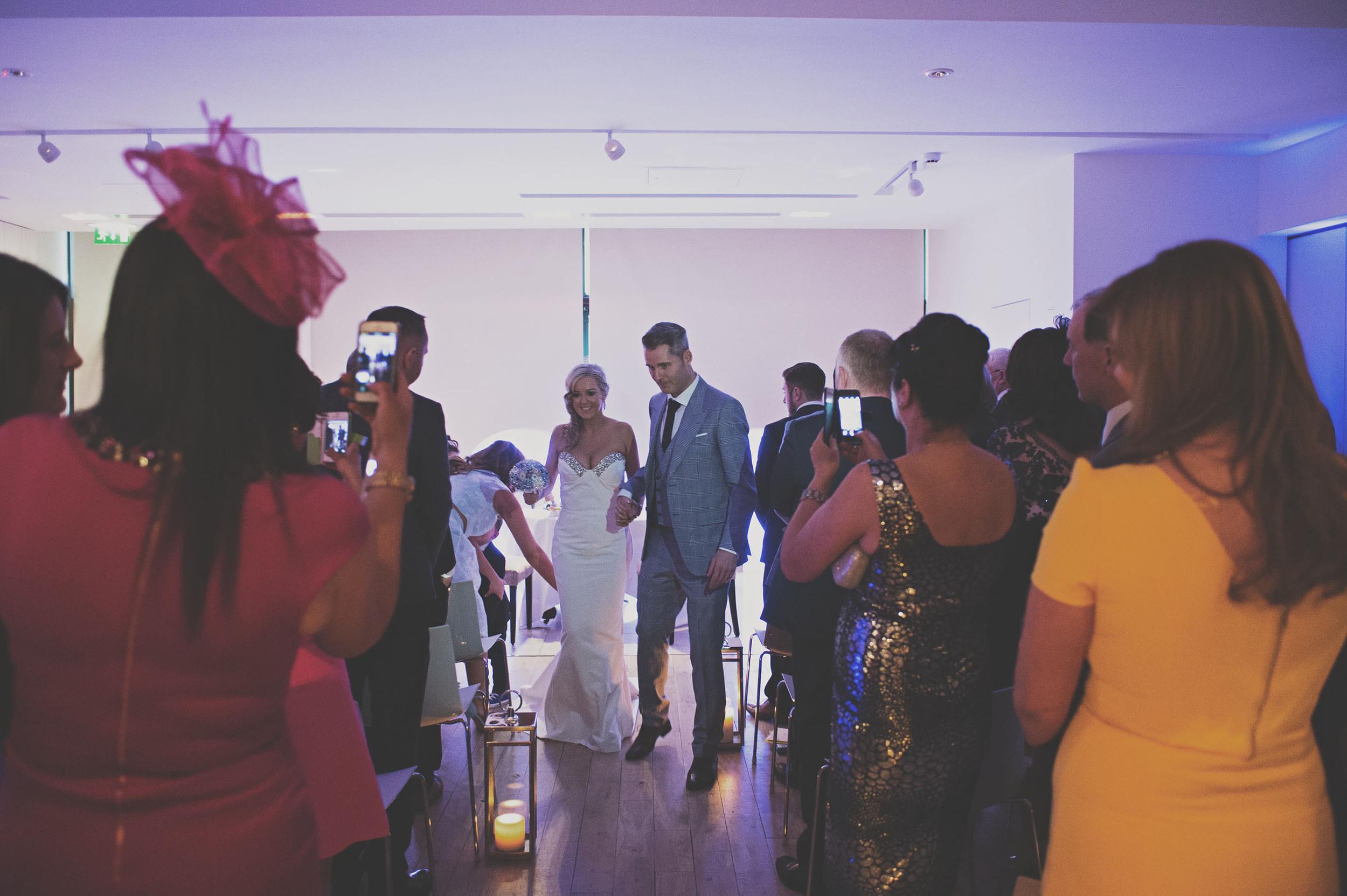 Morrison Hotel wedding couple