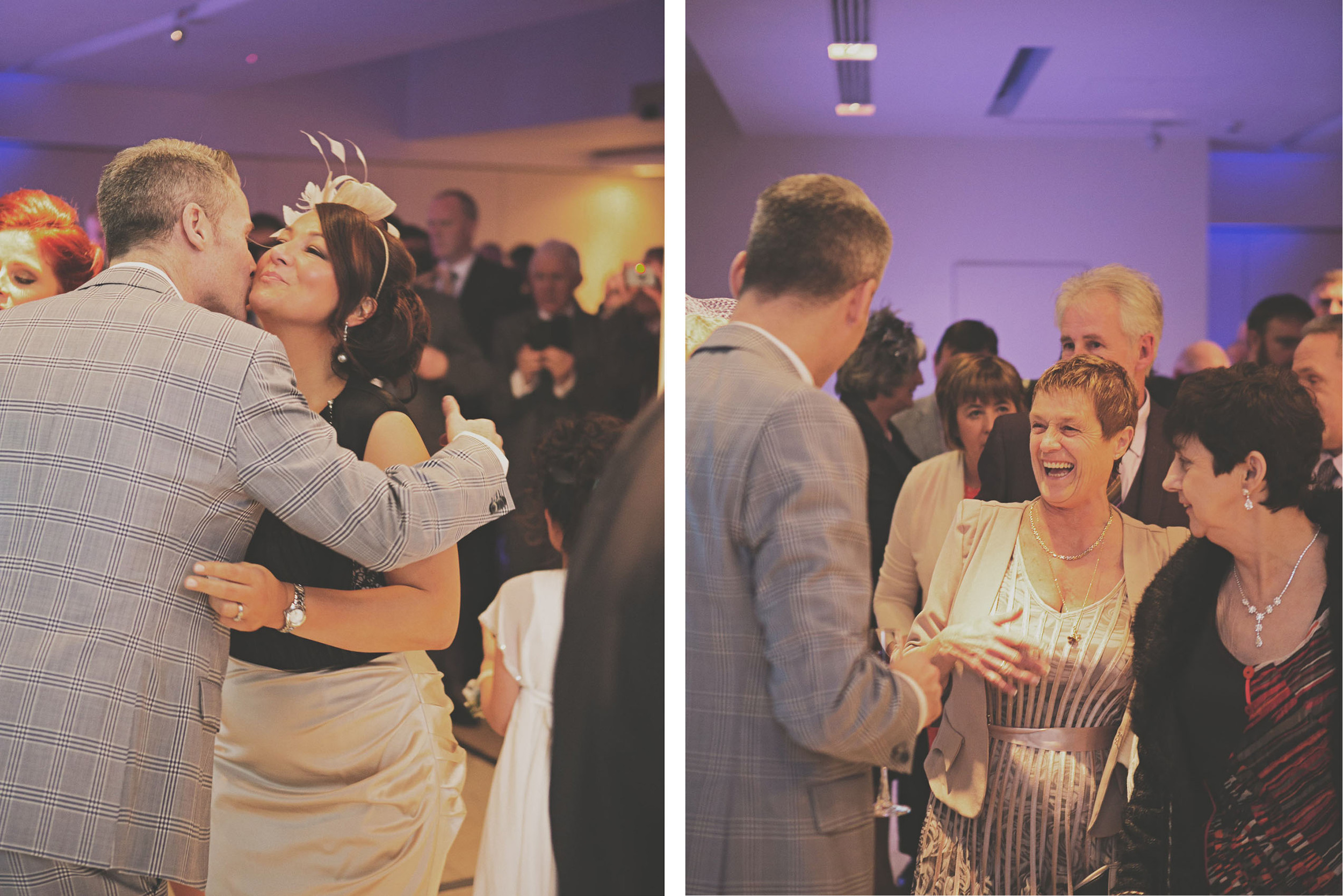 The Morrison Hotel wedding ceremony
