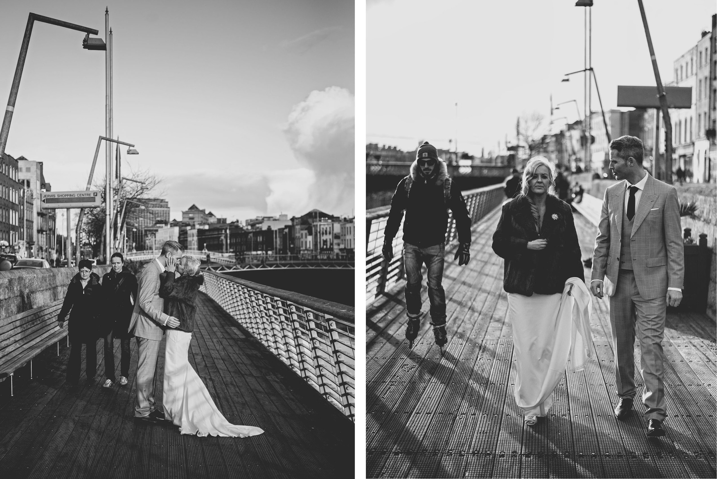 Couple shots Dublin City wedding