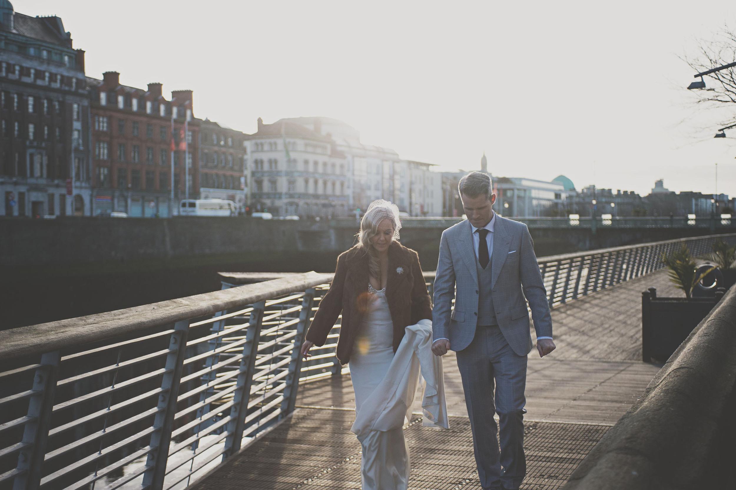 Modern wedding photography in Dublin