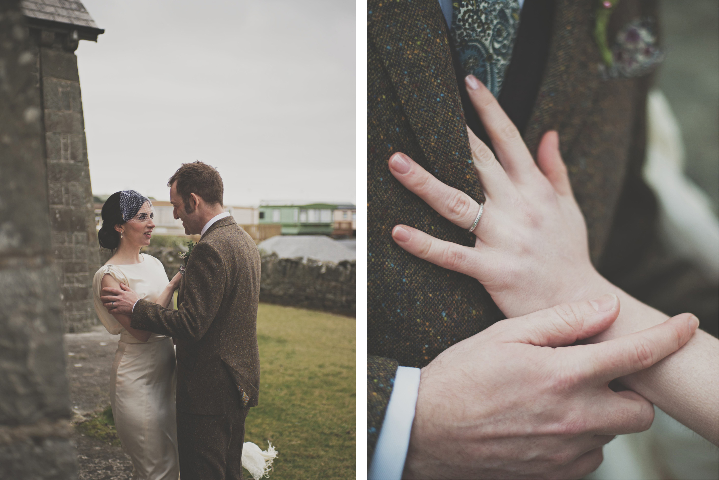 Wedding couple photographs