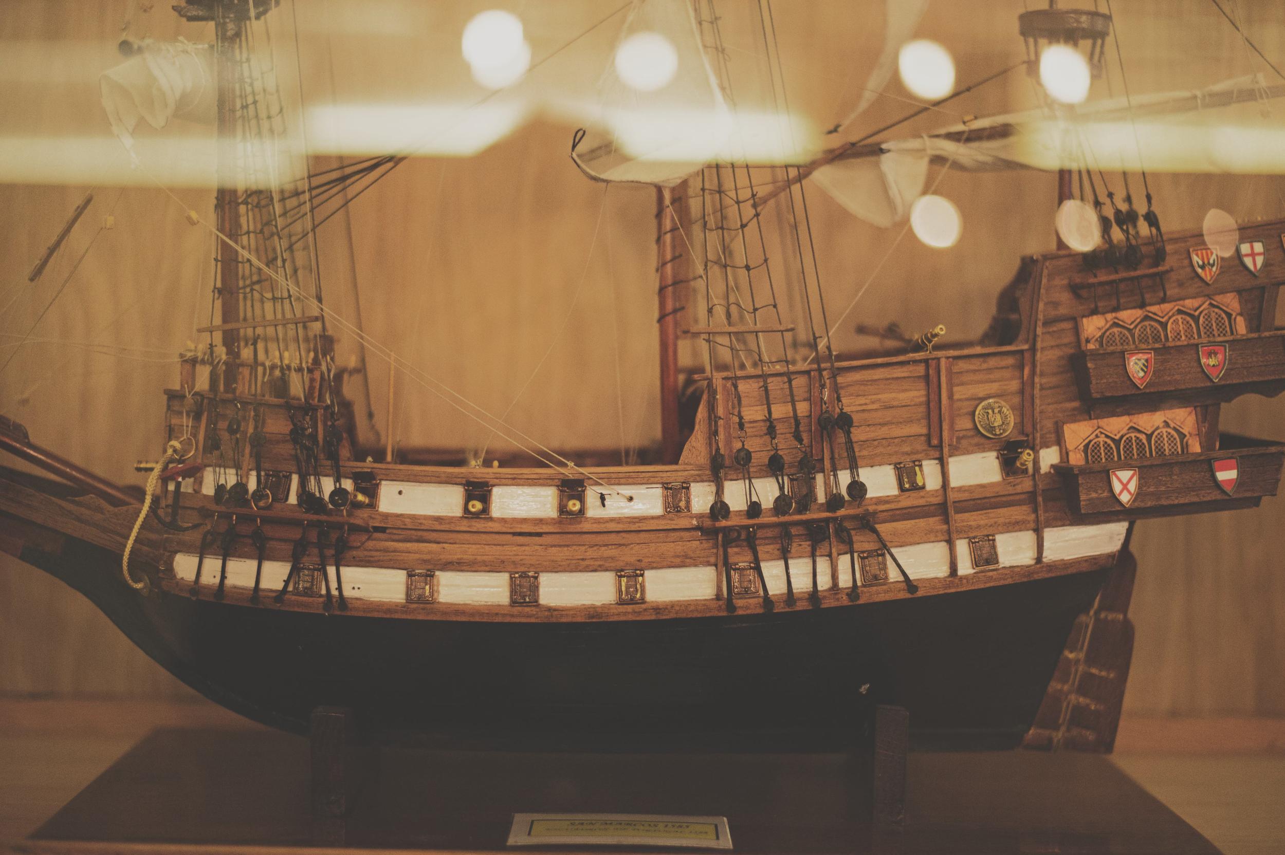 Spanish Point boat