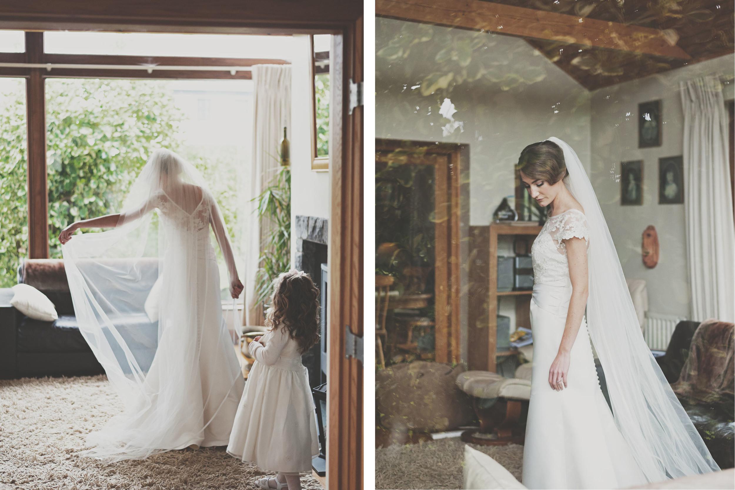 Bride at Tinakilly House