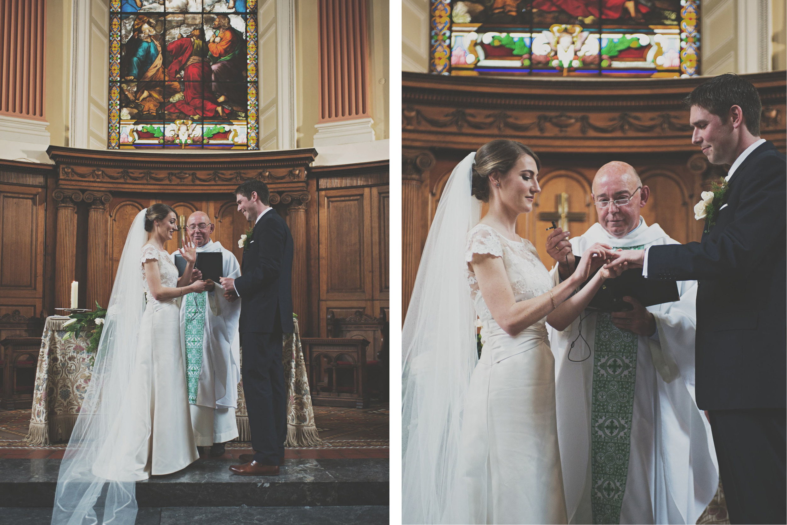Getting married at Trinity Chapel Dublin
