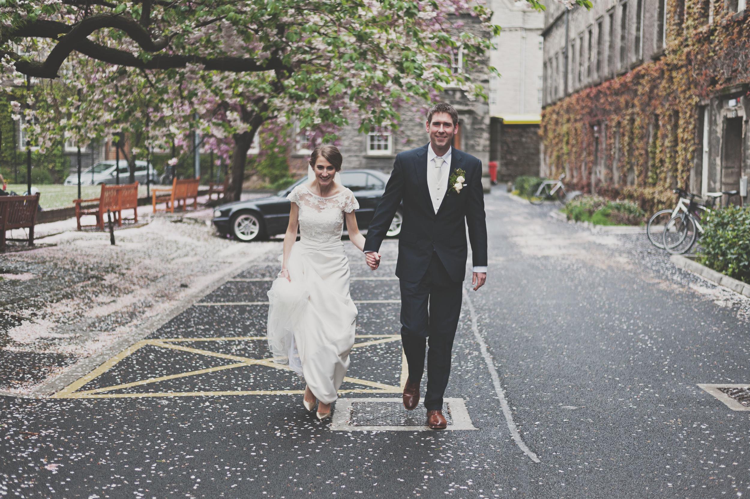 spring wedding in Dublin City