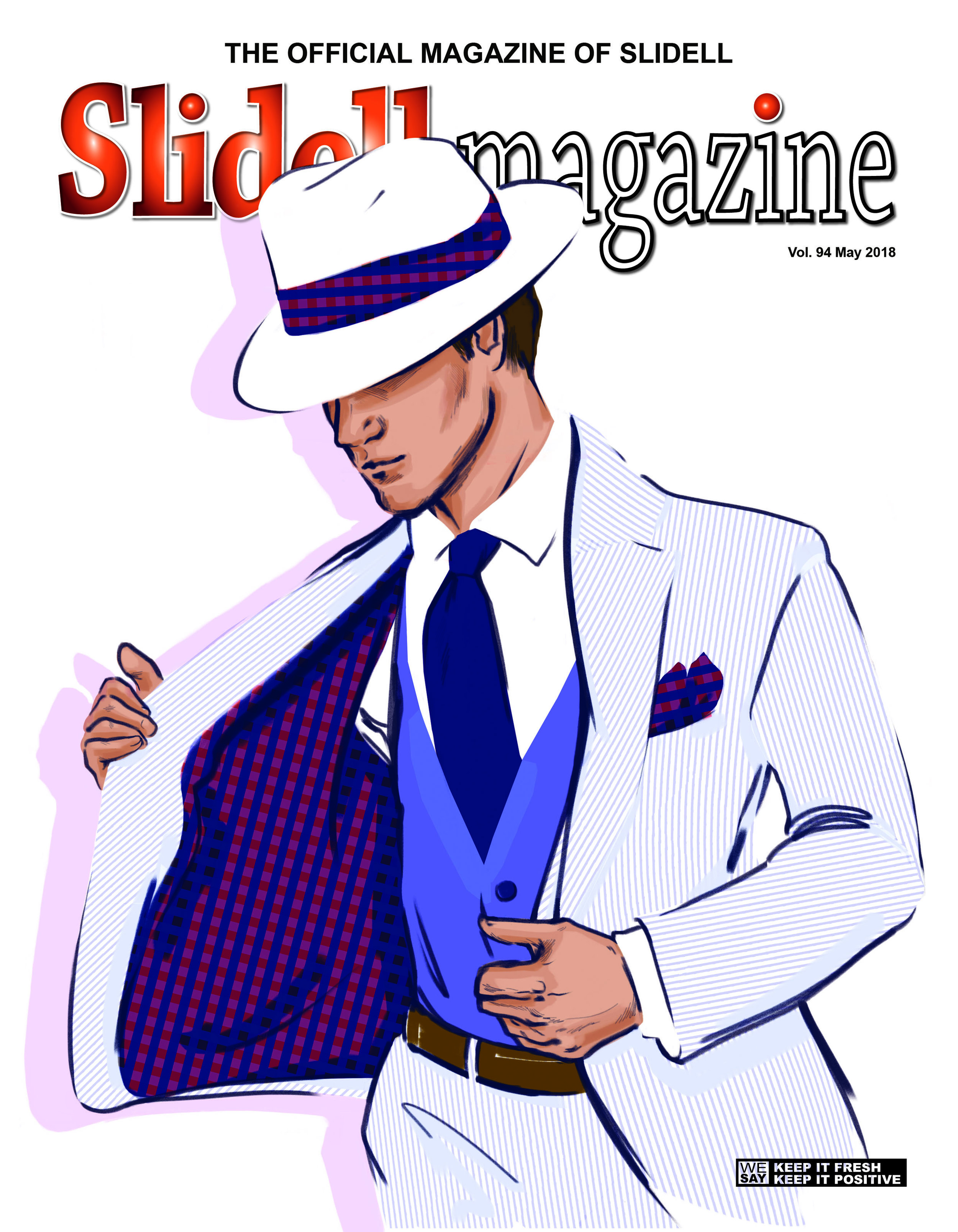 Slidell Magazine, August 2018