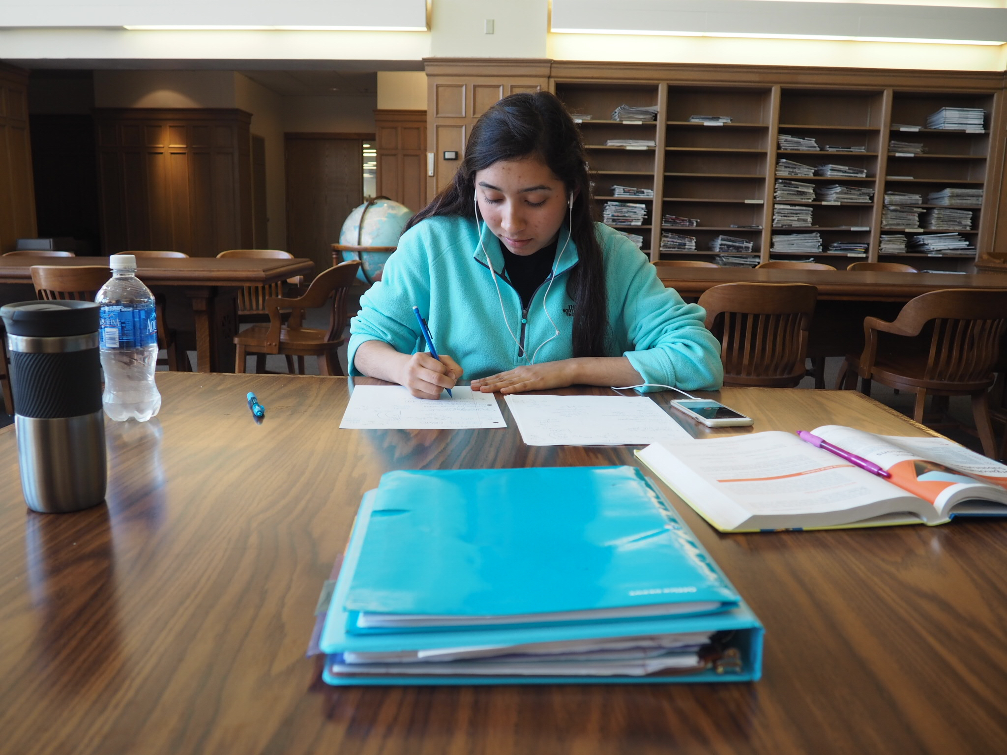 Library makes study space changes for finals week