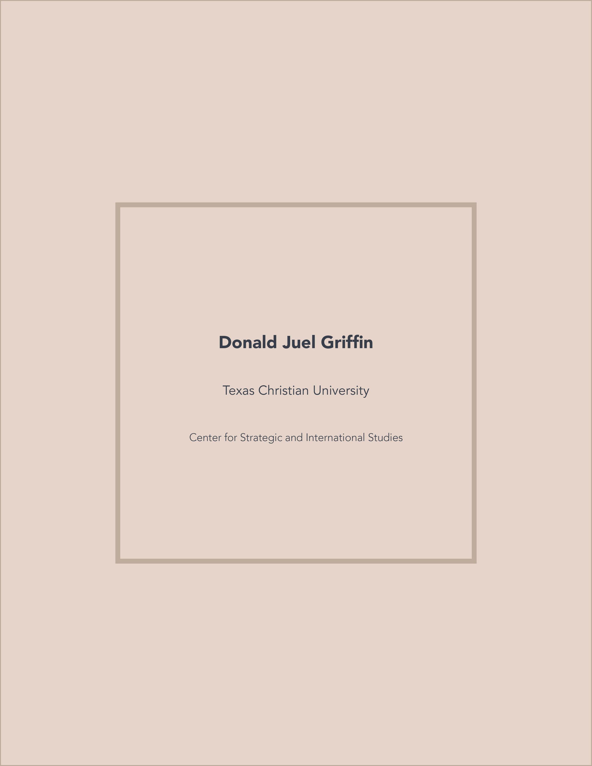 Washington D.C. Internship Semester Portfolio (Print)