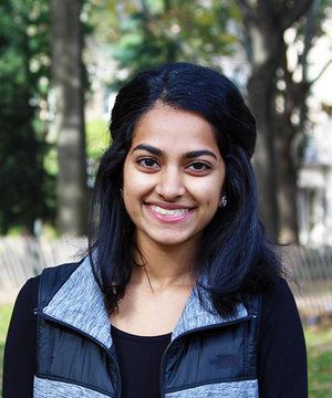 Sanjana Prasad    Quantitative Analyst   Sanjana is a senior studying Finance and Statistics. She's originally from Basking Ridge, NJ. In her free time, Sanjana enjoys dancing, hiking, and watching Parks and Rec and the Office.
