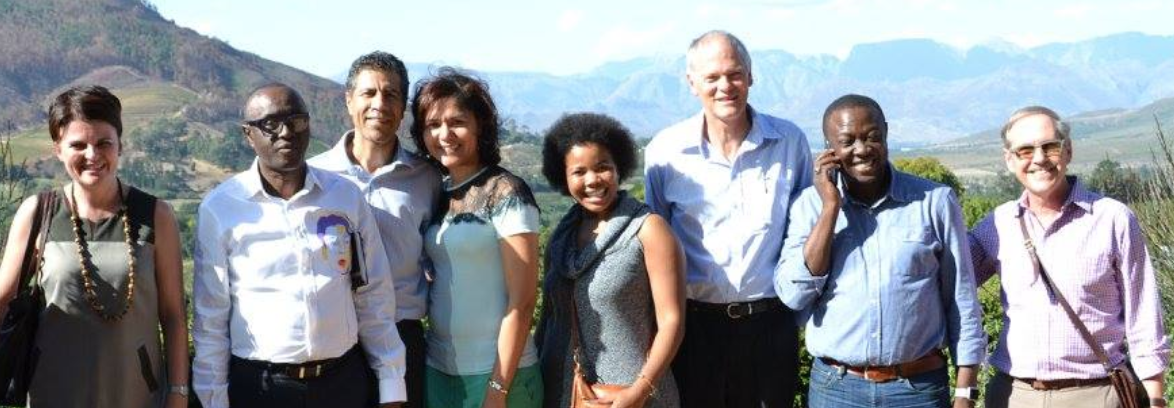 Some of the participants from the 5th Intensive, held in Paarl, Western Cape, South Africa. 2016. Participants came from South Africa and Nigeria.