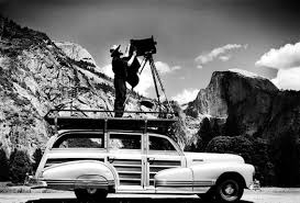 Ansel Adams in Yosemite