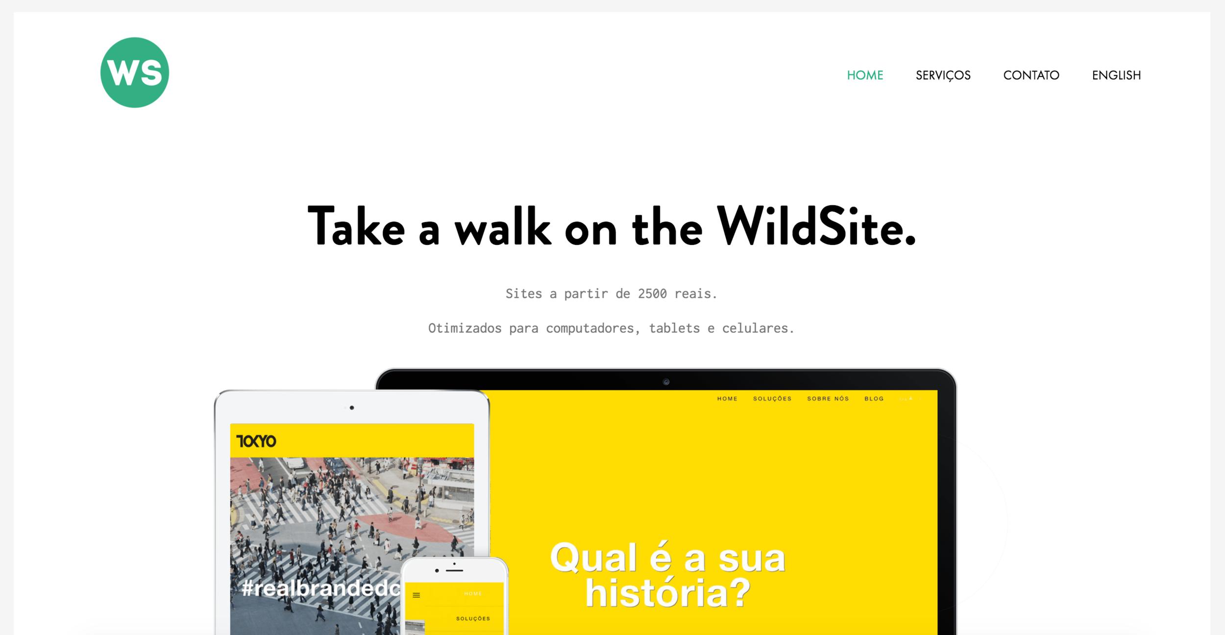 Wildsite agencia de sites