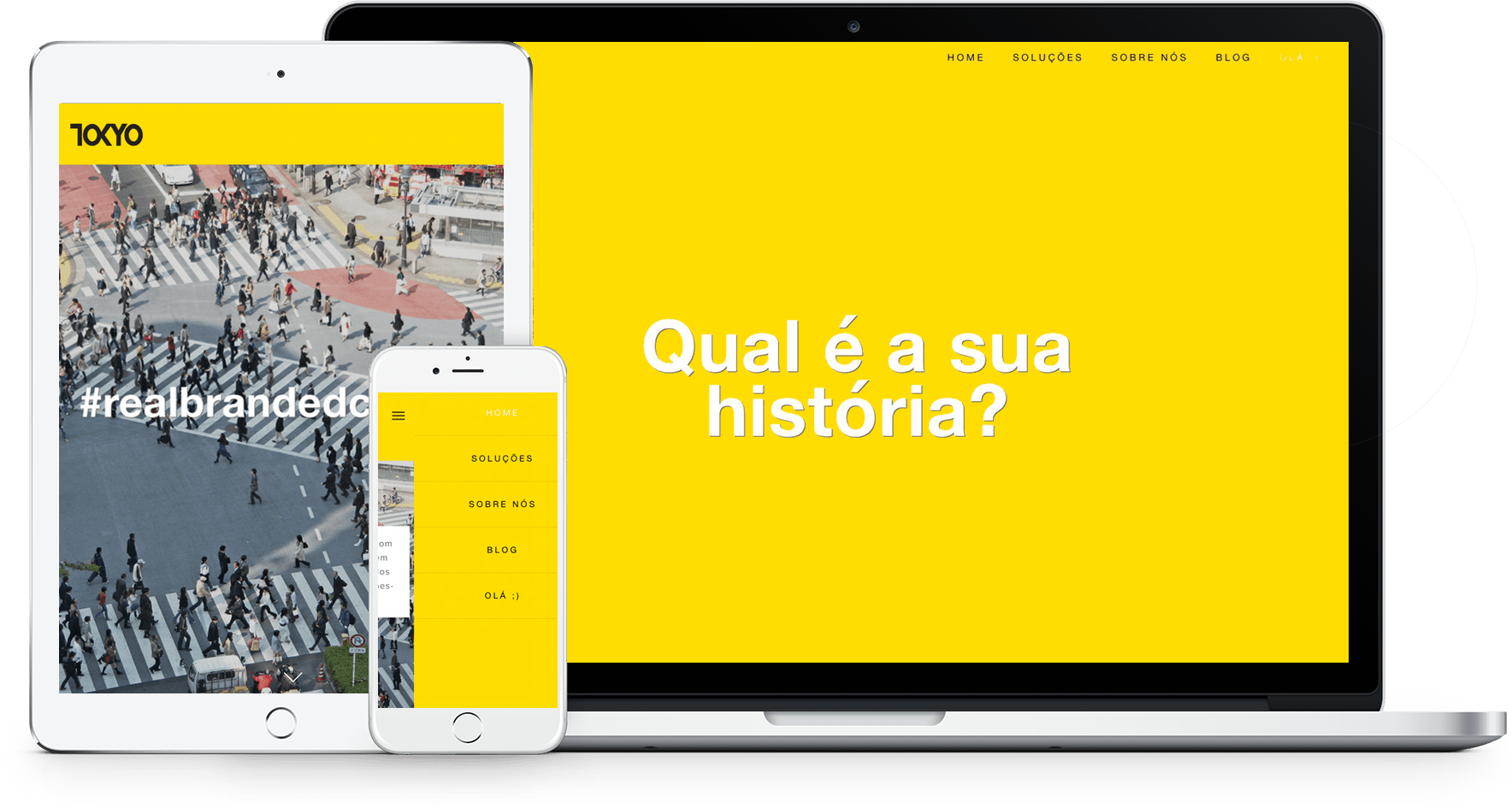 Sites de agencias - Squarespace