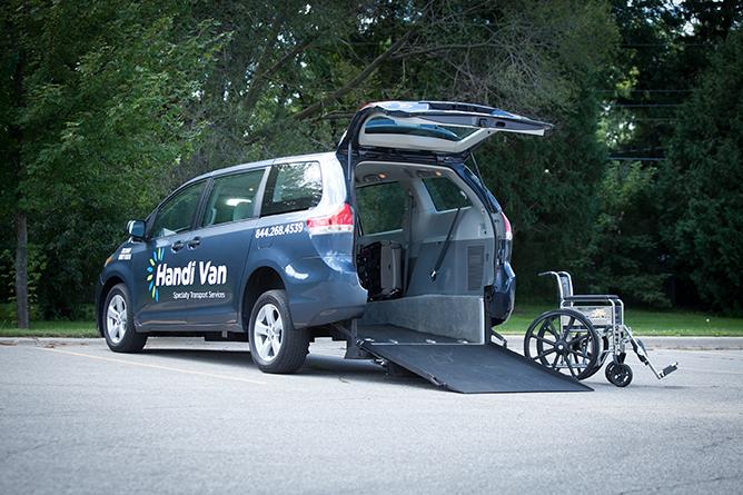 Handi Van Wheelchair Van