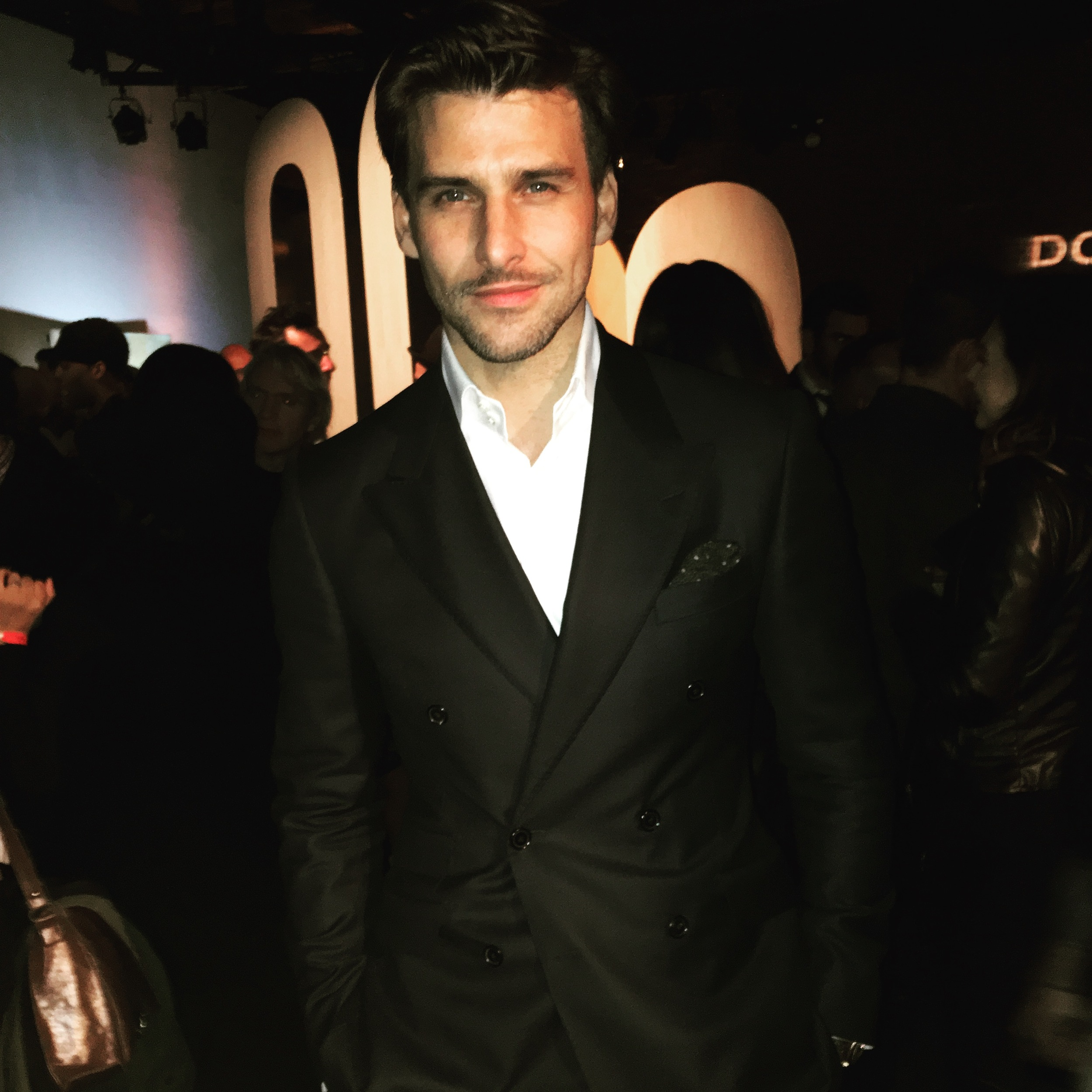 Johannes at the Fall/Winter 2016 launch party.