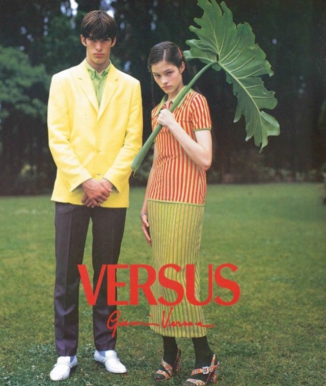 Versus ad campaign shot by Bruce Weber