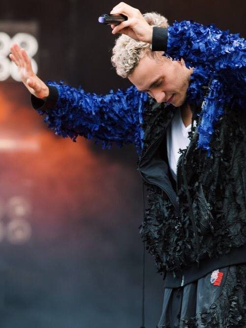 Olly Alexander of Years & Years in 8DIX