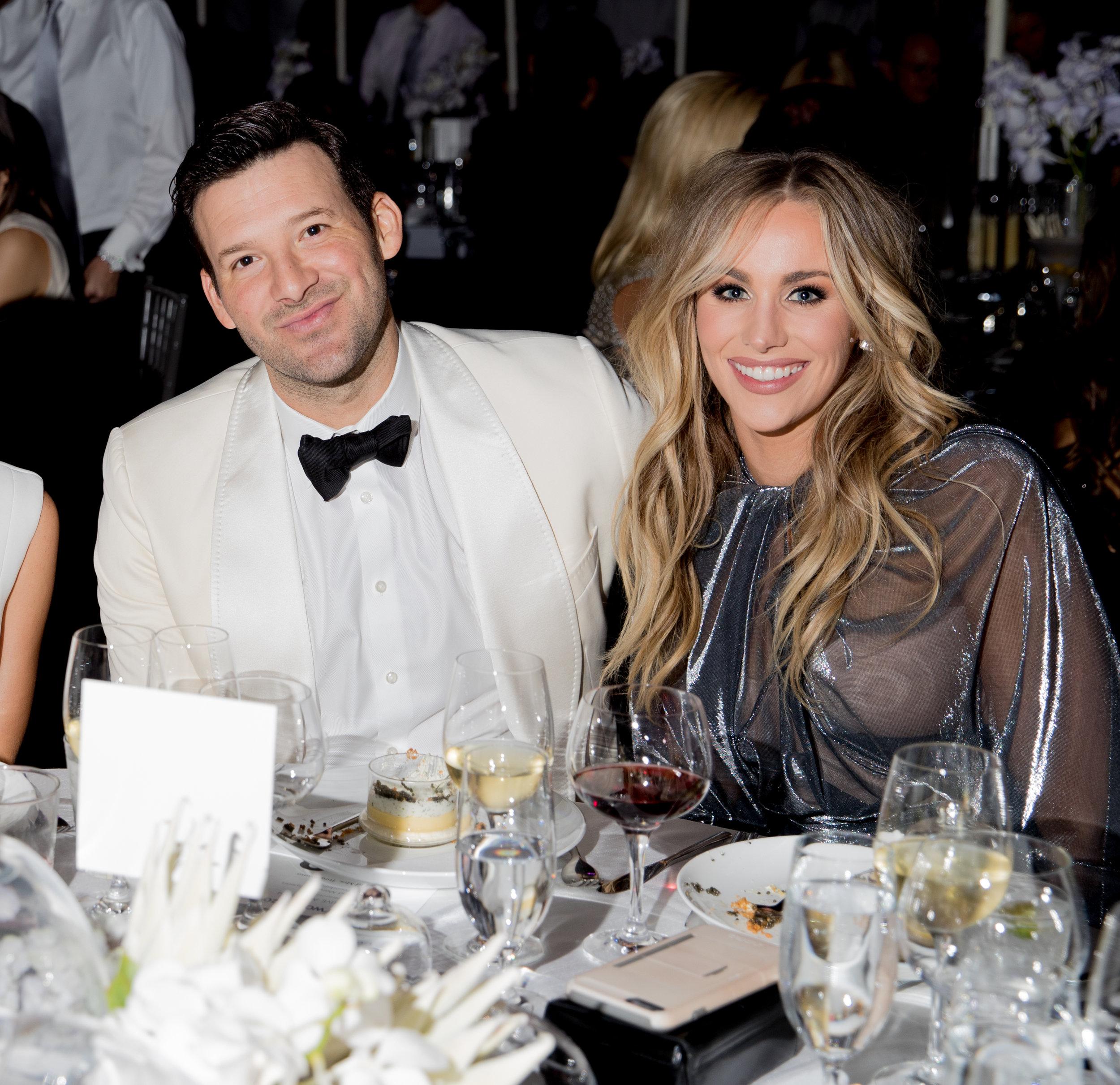 Tony Romo, Candice Romo.jpg