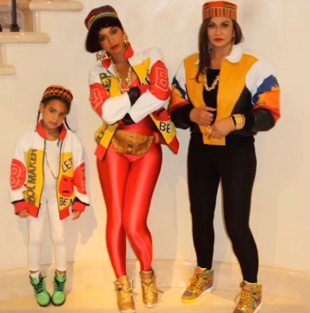 Blue Ivy, Beyonce, Tina Knowles