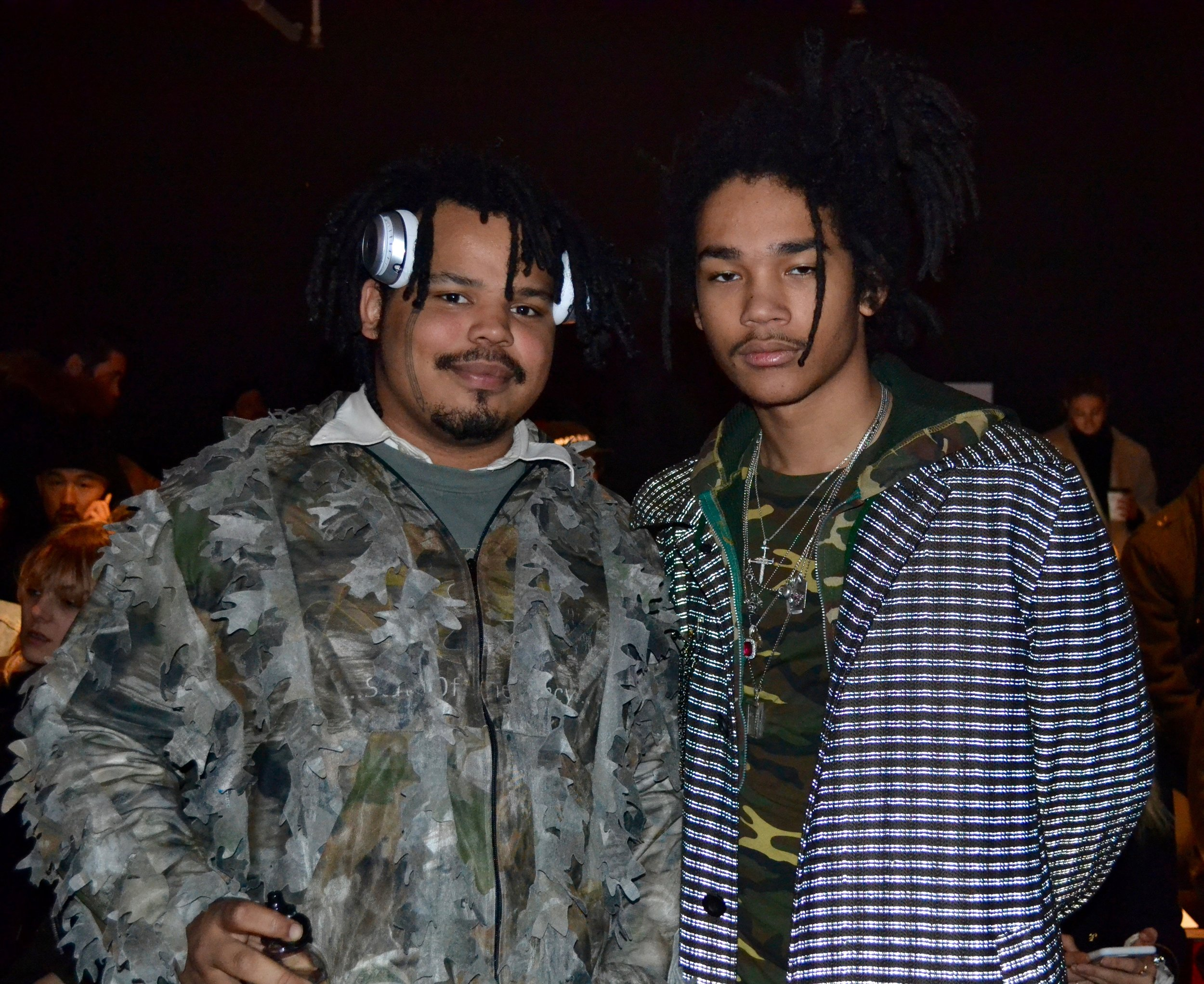 Front row: Kerwin Frost and Luka Sabbat.