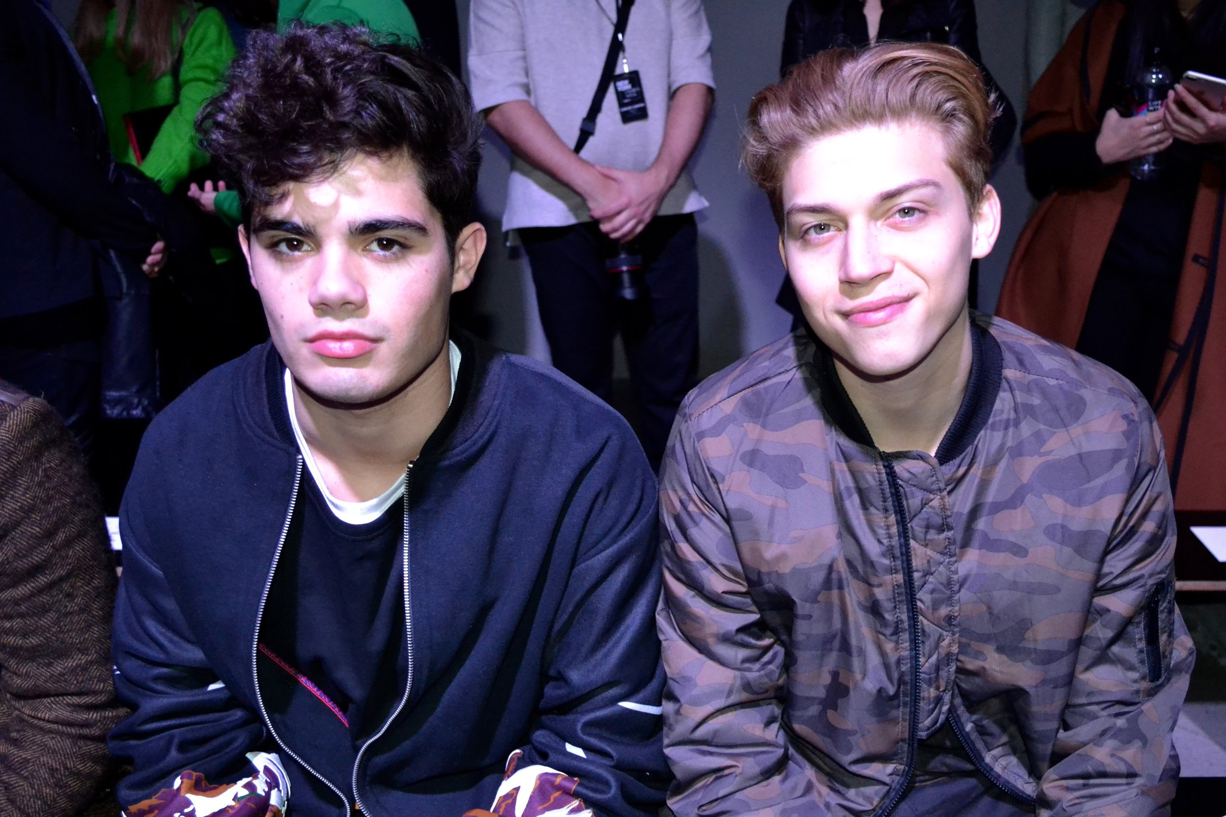 Emery Kelly, Ricky Garcia.