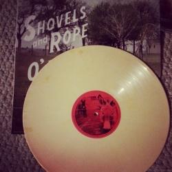 O' Be Joyful white vinyl