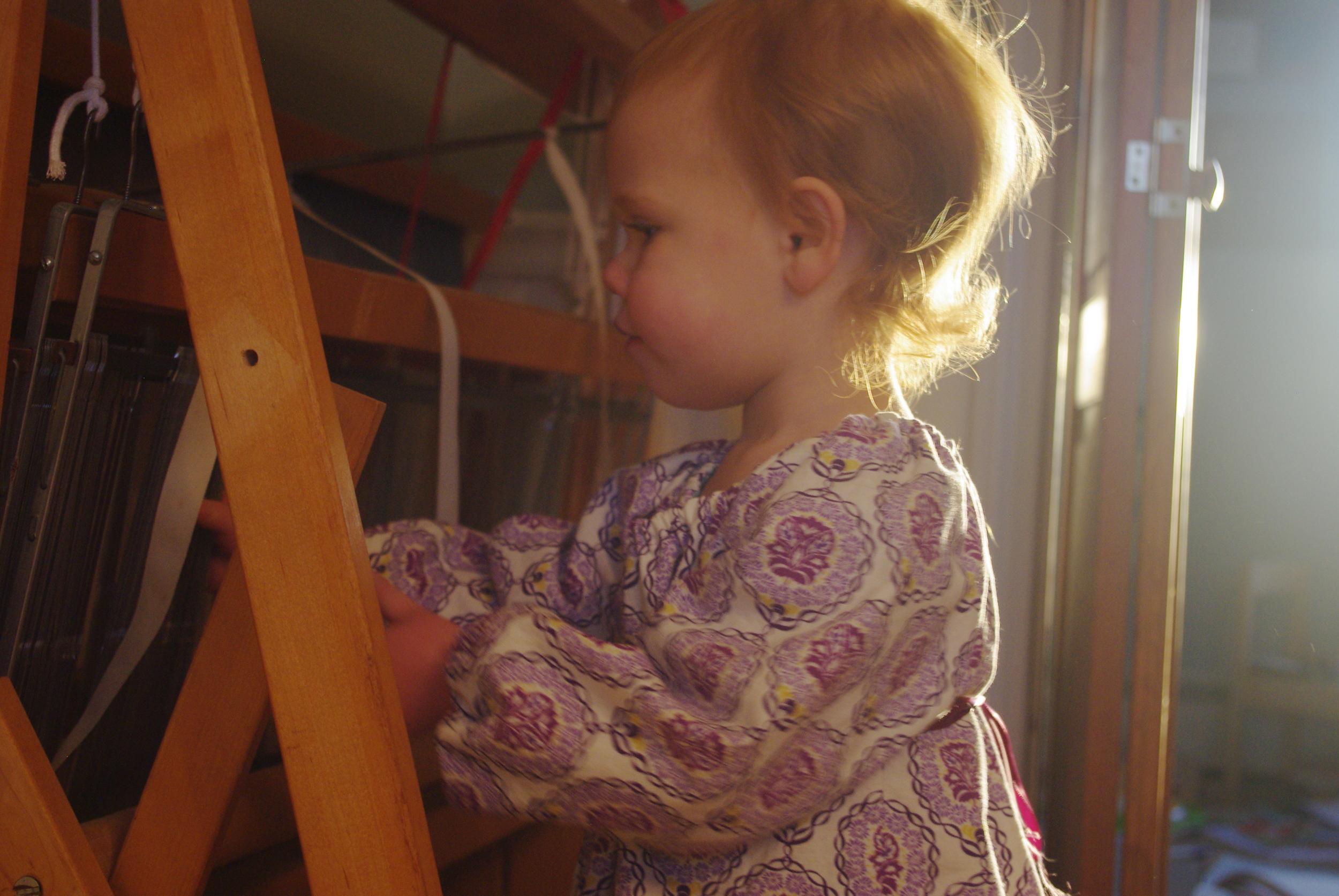Ella Raglan sewn by Ms. Cleaver