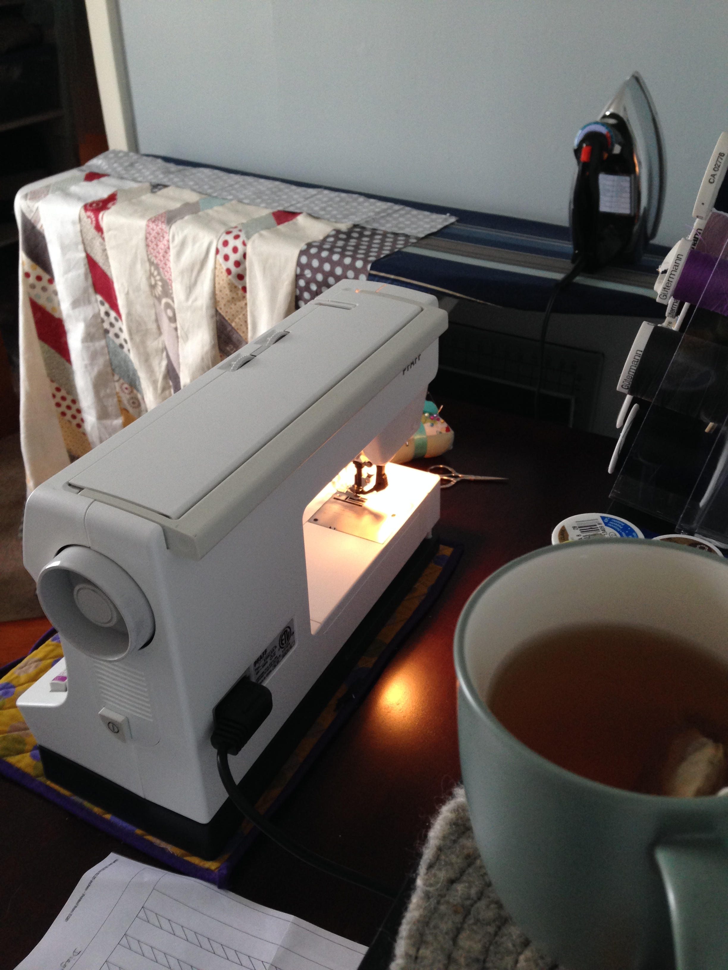 Tea and Quilting