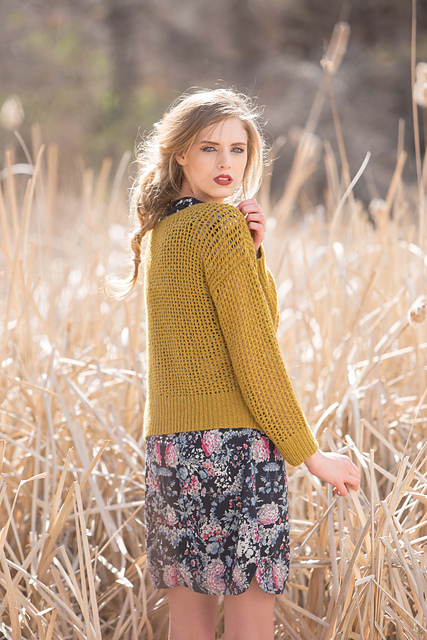 Cormac Sweater by Leah B. Thibault for Knitscene Fall 2015