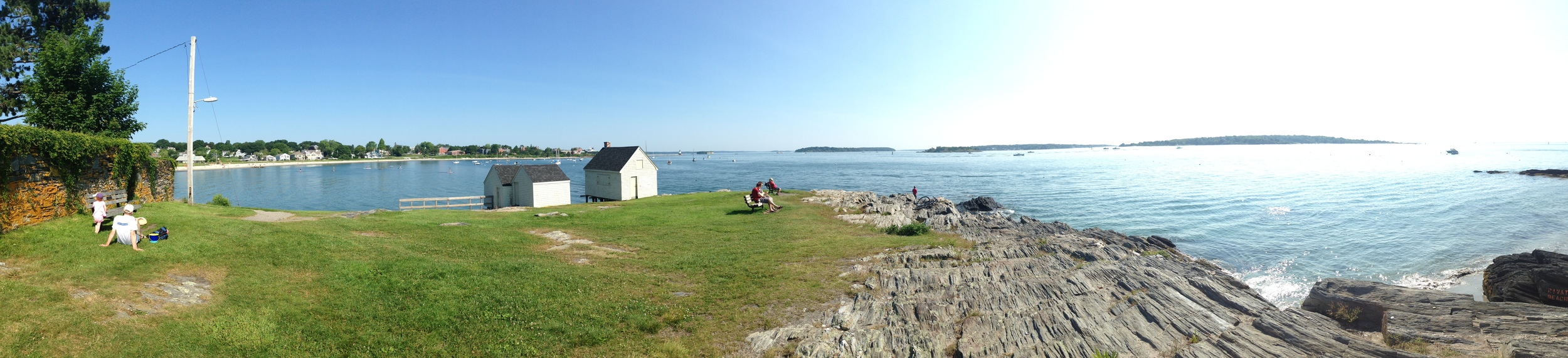 Willard Beach Panorama